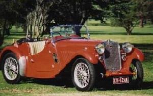 SINGER 1.5 LITRE LE MANS 1935 FULL SET OF NEW BRAKE HOSES Car ...